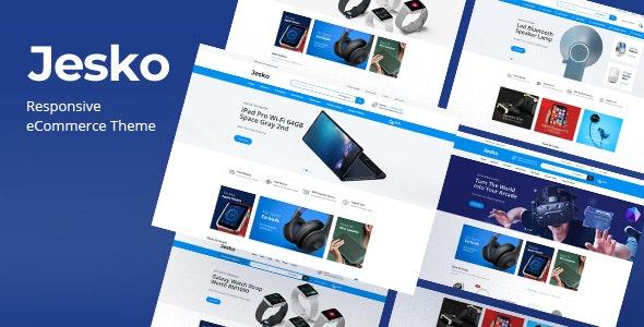 Jesko - Digital Responsive OpenCart Theme - Technology OpenCart