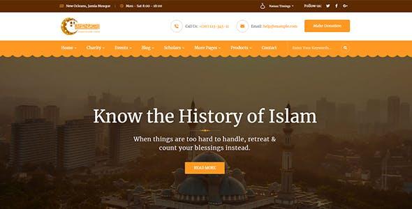 Taqwa - Islamic Center WordPress Theme