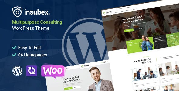Insubex | Multipurpose Consulting WordPress Theme