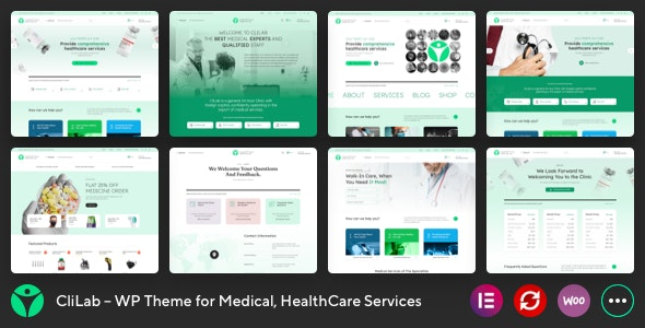 CliLab v1.0 – WP Theme for Medical, HealthCare Services