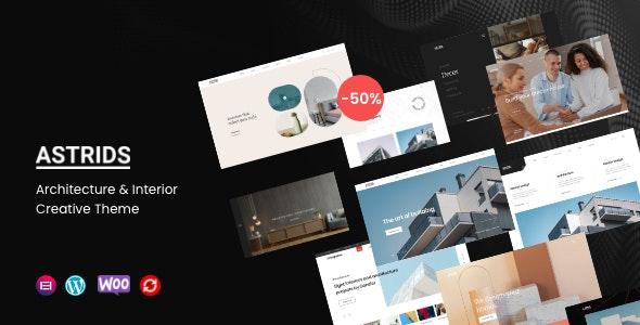 Astrids v1.0.1 – Architecture, Interior Creative Theme