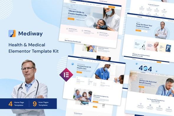 Mediway - Health & Medical Elementor Template Kit - Health & Medical Elementor