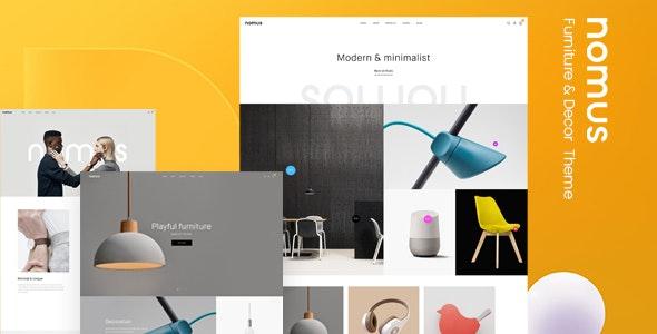 Nomus – Furniture  & Decor WooCommerce WordPress Theme - WooCommerce eCommerce