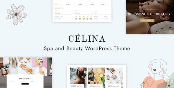 Célina - Spa and Beauty Themeforest WordPress Theme