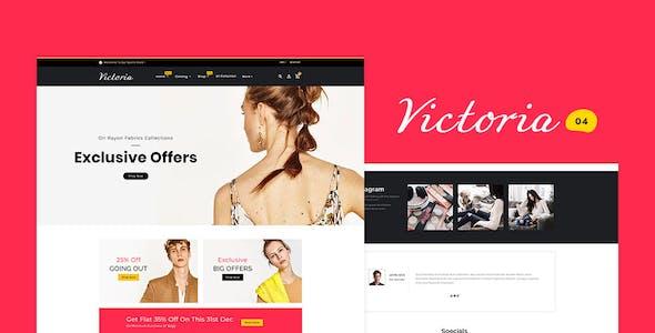 Victoria - Shopify Multi-Purpose Responsive Theme