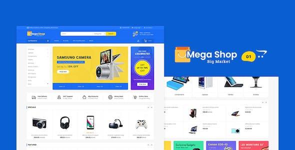 MegaMarket - OpenCart Multi-Purpose Responsive Theme