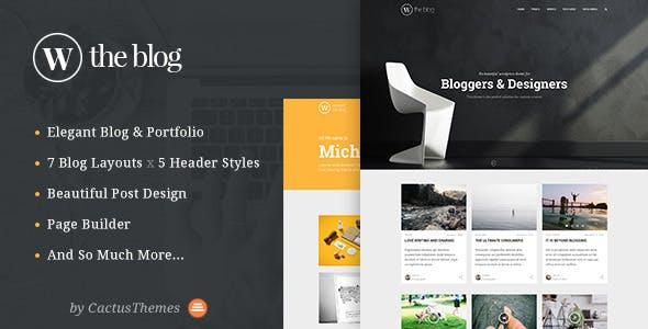 TheBlog - Multi Concept Blog & Portfolio
