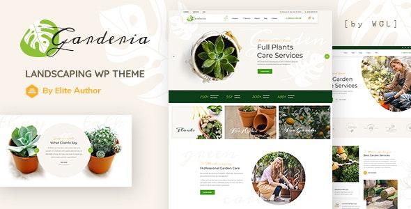 Garderia - Landscaping & Gardening  WordPress Theme - Business Corporate