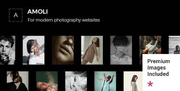 Amoli - Fashion Photography Theme - Photography Creative