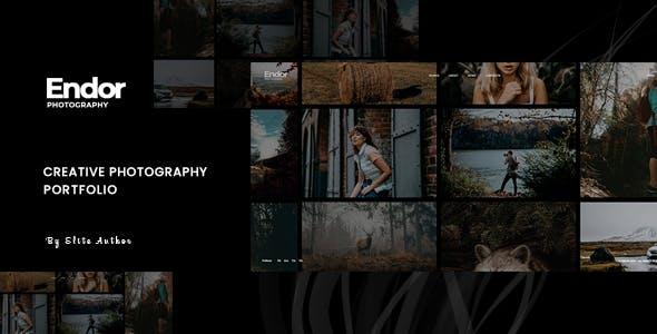 Endor - Creative Photography Portfolio Themeforest WordPress Theme