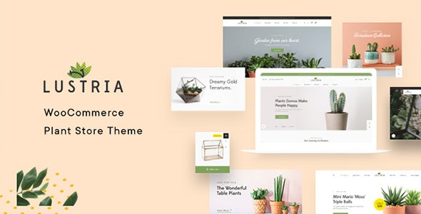 Lustria v2.2 – MultiPurpose Plant Store WordPress Theme
