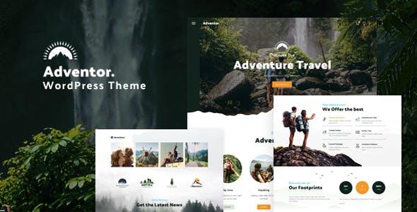 Adventor - Travel and Adventure WordPress Theme