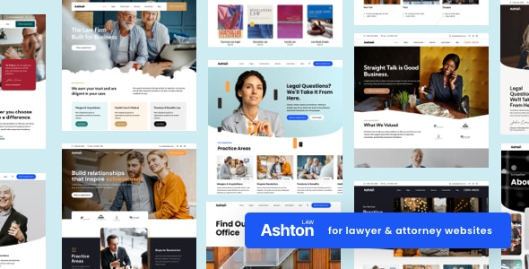 Ashton | Lawyer Attorney Law Consulting WordPress - Business Corporate