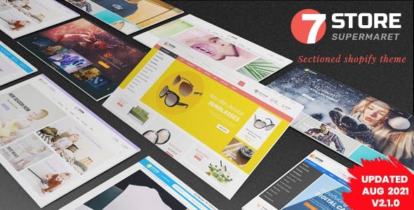 7Store - Sectioned Responsive Shopify Theme for Multipurpose