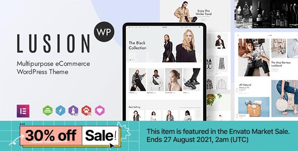 Lusion v1.5.1 – Multipurpose eCommerce WordPress Theme