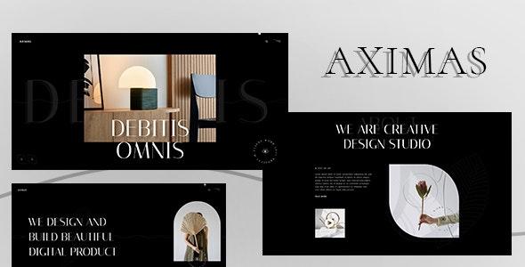 AXIMAS - Agency & Personal Portfolio HTML5 Template - Creative Site Templates