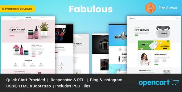 Fabulous - Multipurpose Opencart Theme