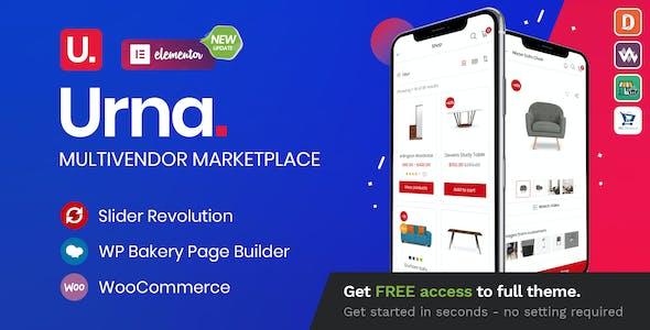 Urna Free WooCommerce WordPress Theme Download