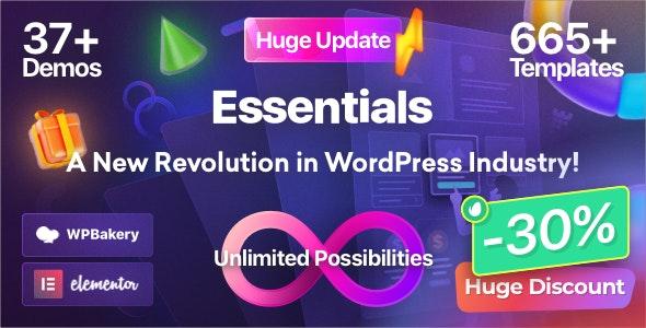 Essentials v2.0.5 – Multipurpose WordPress Theme