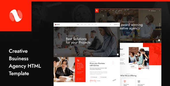 Sominx - Creative Business Agency HTML Template
