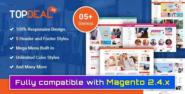 TopDeal - Premium Responsive Magento 2 Theme - Magento eCommerce