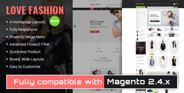Love Fashion - Responsive Magento 2 Store Theme
