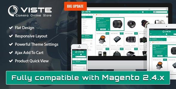 SM Viste - Responsive Multi-Purpose Magento 2 and 1 Theme