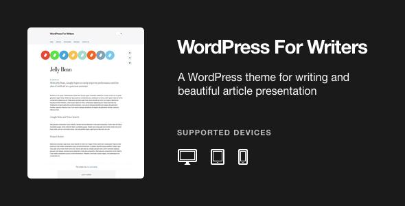 WordPress For Writers - WordPress