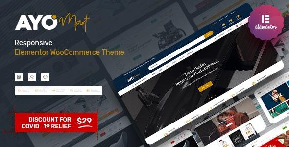 Ayo - Responsive Elementor WooCommerce Theme - WooCommerce eCommerce