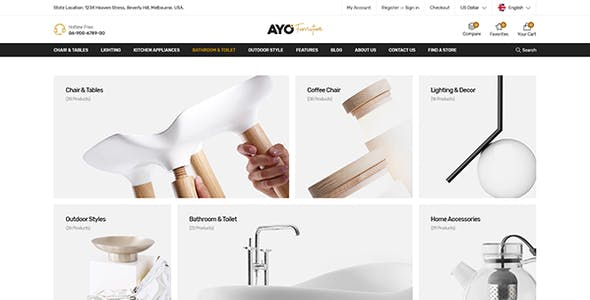 Ayo - Responsive Elementor WooCommerce Theme