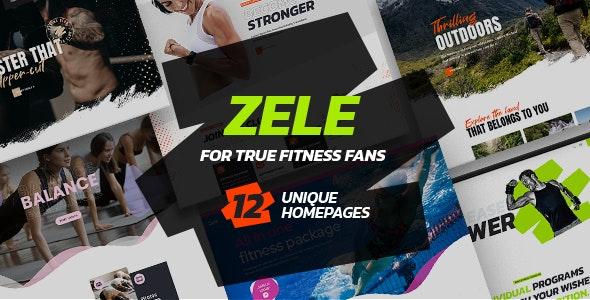 Zele - Fitness Gym & Sports - Health & Beauty Retail