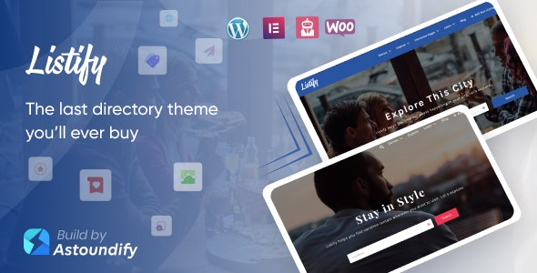 Listify - Directory WordPress Theme - Directory & Listings Corporate