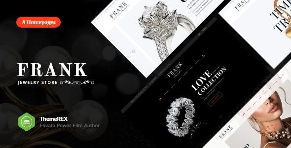 Jewelry & Watches Online Store WordPress Theme - WooCommerce eCommerce