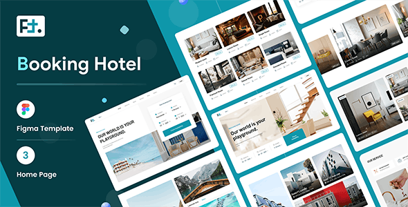 FT - Booking Hotel Figma Template - Travel Retail