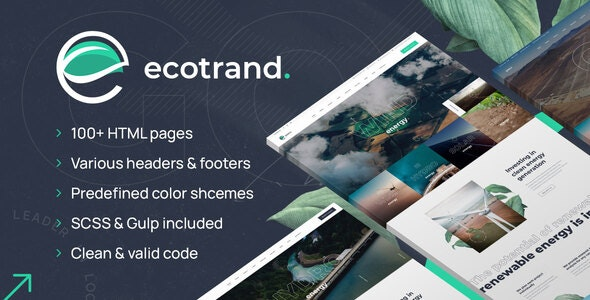 Ecotrand - HTML Template - Business Corporate