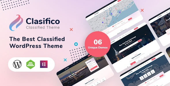 Clasifico - Classified Ads WordPress Theme - Directory & Listings Corporate