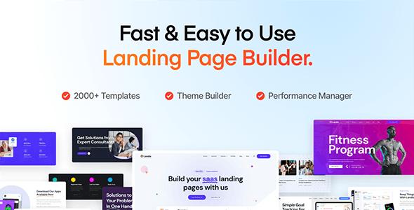 Landio v1.0.0 – Multi-Purpose Landing Page WordPress Theme
