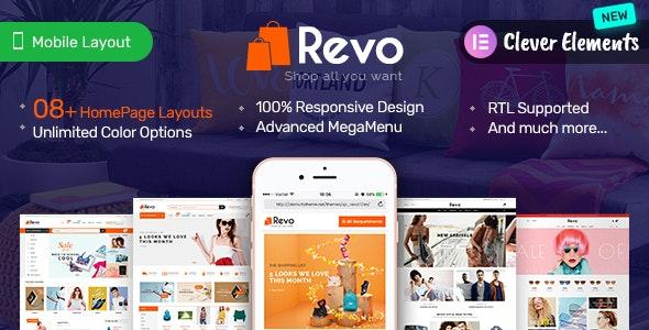 Revo - Elementor Premium Responsive PrestaShop Theme - Shopping PrestaShop