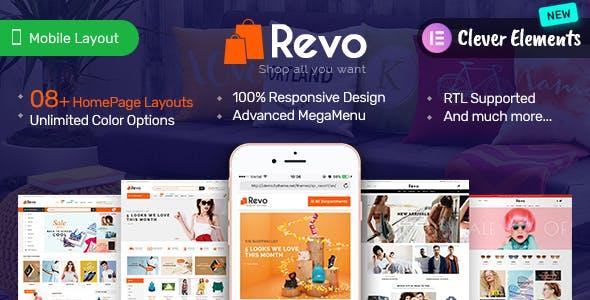 Revo - Elementor Premium Responsive PrestaShop Theme