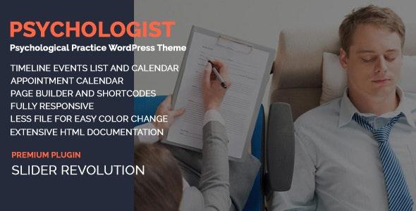 Psychologist - Psychological Practice WP Theme - Miscellaneous WordPress