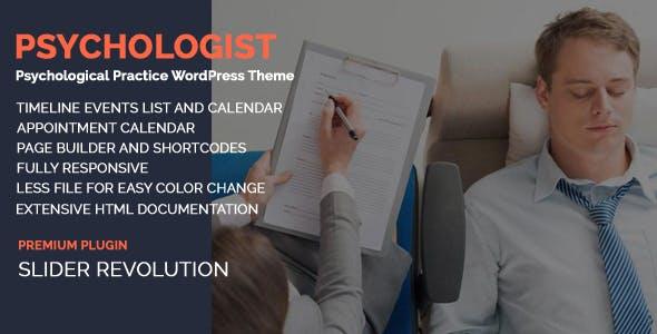 Psychologist - Psychological Practice WP Theme