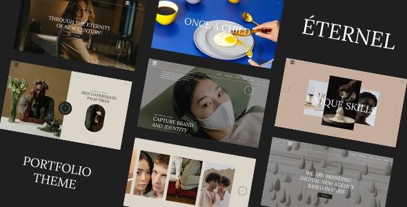 Éternel - Creative Portfolio WordPress Theme - Creative WordPress
