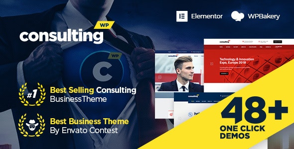 Consulting v6.1.6 – Business, Finance WordPress Theme