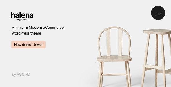 Halena | Minimal & Modern eCommerce WordPress Theme - WooCommerce eCommerce