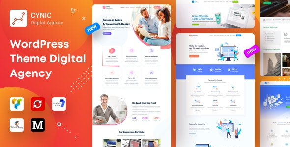 Cynic - Digital Agency - Technology WordPress