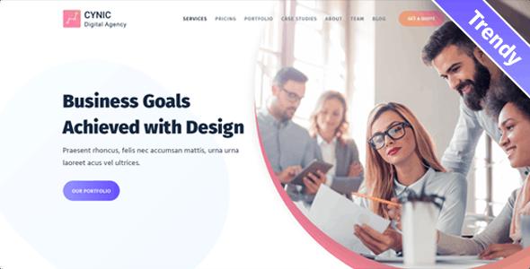 Cynic - Digital Agency Theme