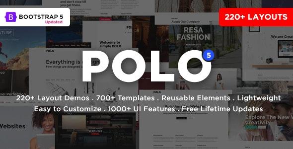 Polo – Responsive Multi-Purpose HTML5 Template – 22 september 2021