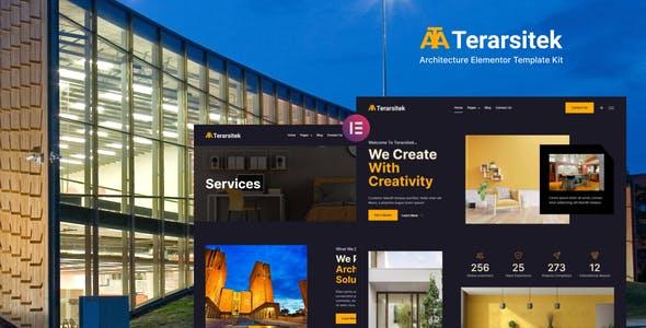 Terarsitek - Architecture Elementor Template Kit