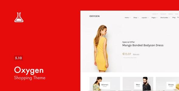 Oxygen v5.11 – WooCommerce WordPress Theme