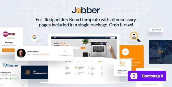 Jobber - Job Board HTML5 Template